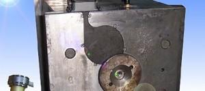 نمونه از قالب که سیستم راهگاه آن از هات رانر استفاده شده است