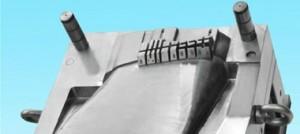 نیمه ای از قالب تزریق پلاستیک