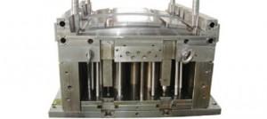نمونه ای از نیمه قالب تزریق که - قسمت پران
