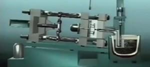 نمونه از عملکرد ماشین تزریق دایکست برای قالب دایکست