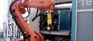 نمونه ای از تزریق قالب دایکست آلومینیومی با ماشین تزریق دایکاست