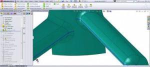 طراحی سطوح جدایش قالب پلاستیک در نرم افزار سالید ورکس-قسمت دوم