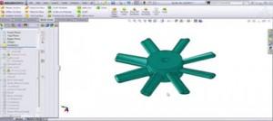 طراحی سطوح جدایش قالب پلاستیک در نرم افزار سالید ورکس-قسمت اول