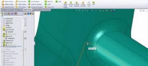 طراحی سطوح جدایش قالب پلاستیک در نرم افزار سالید ورکس-قسمت سوم