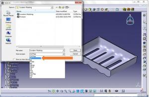 آموزش نرم افزار Mold Flow -وارد سازی مدل