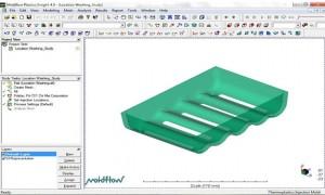 آموزش نرم افزار Mold Flow -واردسازی مدل