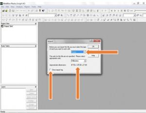 آموزش نرم افزار Mold Flow - وارد سازی مدل